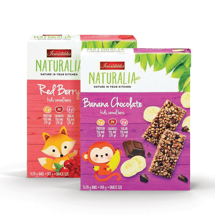 NATURALIA CEREAL BARS